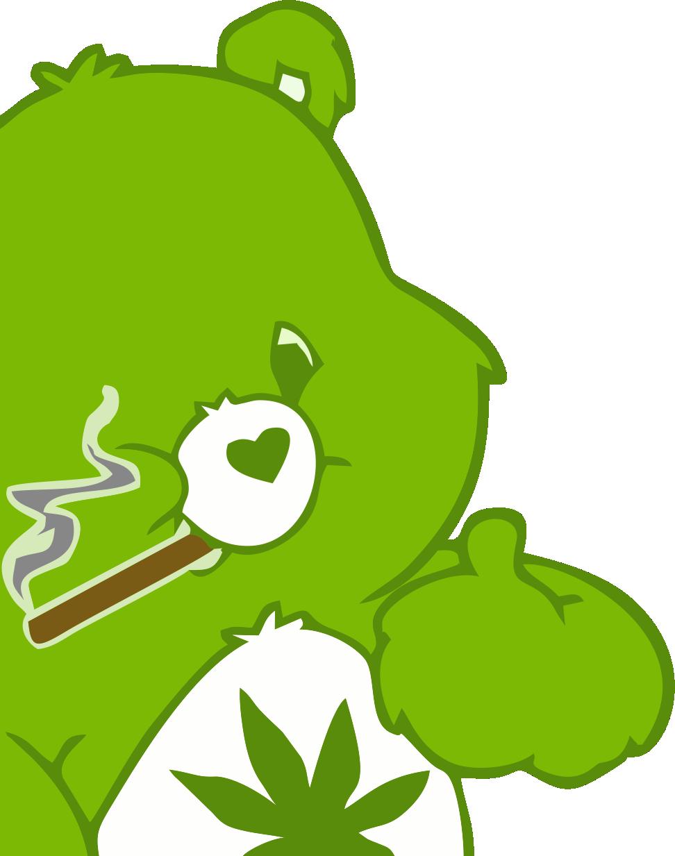 Медведь курит марихуану во мне пол литра в доле с марихуаной